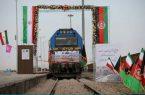 """حرکت رسمی قطار خواف – هرات با شعار """"دو ملت، یک فرهنگ و تاریخ"""""""