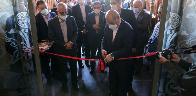 مراسم افتتاحیه و بهره برداری از کافه موزه سلامت با حضور جمعی از مسئولین کشوری و استانی برگزار شد